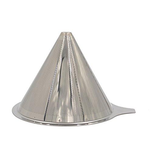 Cone Kaffee-filter (jettingbuy über Kaffee Gießen Filter–wiederverwendbar Edelstahl Coffee Filter Cone für pour über Kaffeemaschine)