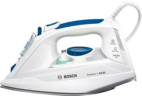 Bosch TDA302401W Dampfbügeleisen Sensixx'x DA30, weiß/smokey blau