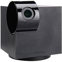 PetTec Cam Snoop Cube, Aplicación inteligente de Mascotas con Detección de Ruido, Full HD 1080p, Vista 360°, Micrófono y Altavoz, para iOS y Android
