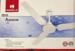 HAVELLS 1200 MM AEROKING CEILING FAN PACK OF 2 (WHITE)