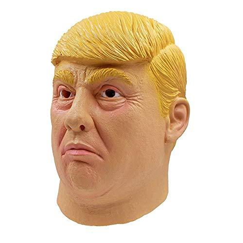 Der Kostüm Promis - Donald Trump Maske Billionaire Presidential Kostüm Latex Cospaly Maske Der US-Präsident Trump Maske für Promi-Parodien Requisiten