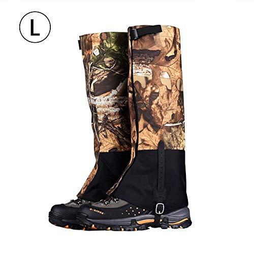 Schnee-Gamaschen-Schuhe decken Bergsteigen atmungsaktiv und widerstandsfähig wasserdichtes Wandern von Männern und Frauen ()