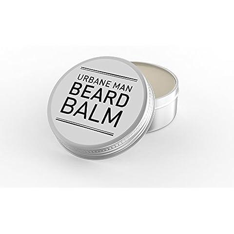 Bálsamo de barba/acondicionador. Acondicionador de barba actúa como una crema hidratante. Elaborado con aceites esenciales - también es el bálsamo perfecto para el bigote, perfumado - 100 g