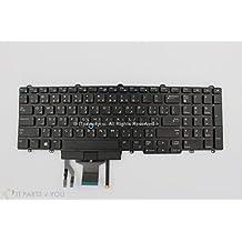 Nueva Original Dell Latitude E5550/70 Precision 3510 retroiluminado teclado árabe nosotros Intl doble: