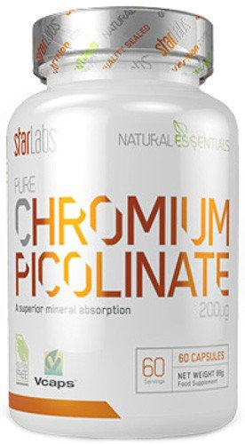 Starlabs Nutrition Chromium Picolinate - 60 Cápsulas