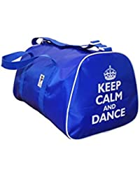Tappers y referencias Keep Calm and Dance bolsa de deporte