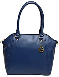 Reba Fashions Premium Synthetic Leather Women Handbag Blue Color Ladies Shoulder Bag By REBA ( Available In 3...