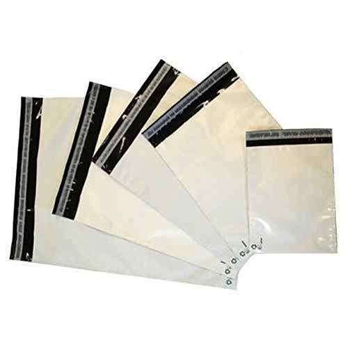 logei® 100St Folienversandtaschen Plastikversandbeutel Versandbeutel Warenbeutel Versandtasche, undurchsichtig, 35cm x 45cm -