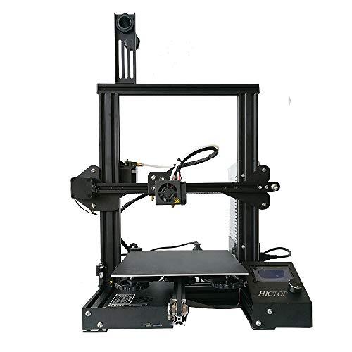 Creality Ender 3 Impresora 3D HICTOP ensamblada a la mitad 220x220x250mm