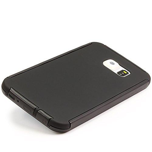 URCOVER® Housse Coque Tactile Complet   Apple iPhone 6 / 6S   Plastique Rose   Étui Téléphone Portable Sac Protection Écran Armor Cover Case Noir