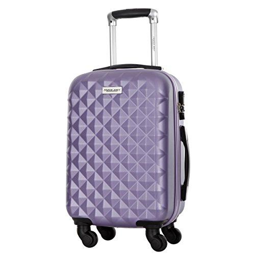 Valises Rigides Travel One Edison Violet M - 1 à 2 Semaines
