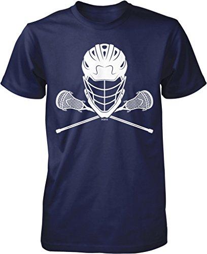 NOFO Clothing Herren T-Shirt Co Lacrosse Helmet and Sticks - - XXX-Large -