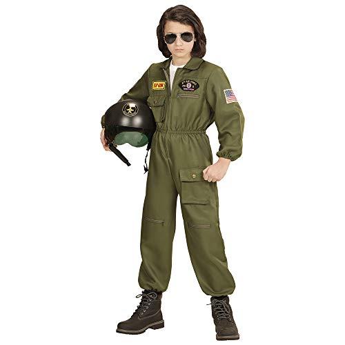 WIDMANN?Costume per bambini pilota di jet milit
