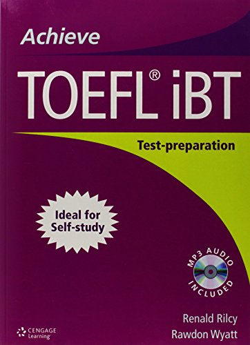 Achieve TOEFL IBT: Student Book: Test-Preparation Guide