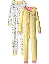 The Children's Place Baby Girls' Stretchie Pajamas (Pack of 2)