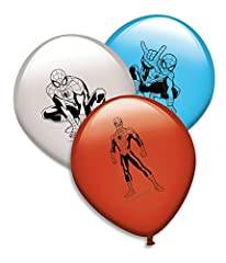 Idea Regalo - Spider-Man – 8 Palloncini, Verbetena 014300062