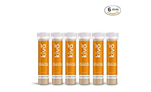 Kiva Pure Natural Metabolism Booster Shots Apple Cider Vinegar with Honey, 40ml - Pack of 6