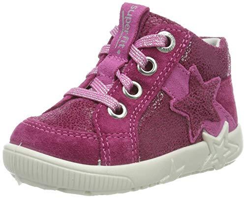 superfit Baby Mädchen Starlight Sneaker, Pink (Berry Kombi 37), 22 EU