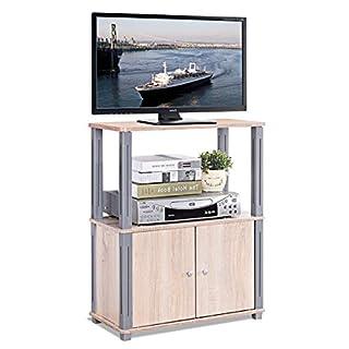 COSTWAY Fernsehtisch, TV Möbel Regal Tisch Schrank, Fernsehschrank, Sideboard