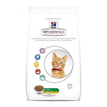 Hill's Vetessentials Feline Nourriture Croquette pour Chat 3 Semaine à 1 An Poulet 3 kg