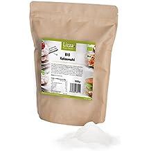 Bio Kokosmehl von Lizza: Glutenfrei, Low Carb, Vegan, viele Proteine, Ballaststoffe und Omega-3. Gesund und schlank (1x 1000g)