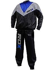 RDX Combinaison Sudation Survêtement Fitness Costume De Sauna Sweat Suit Training