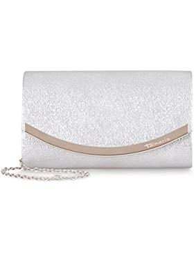 Damen Clutch silber Bag Tamaris 2469172-941 elegant Damentaschen ZELDA