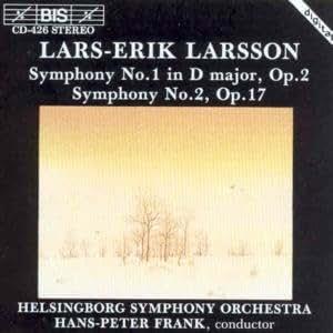 Larsson - Symphonies Nos 1 & 2