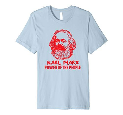 Karl Marx Power The People T Shirt Marxistischer marxismus Kommunistische Preisvergleich
