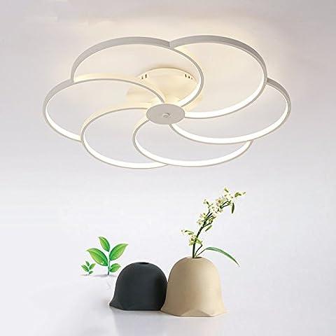 FEI&S lampada da soffitto Led living room bedroom studio sala da pranzo lampade,bianco