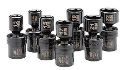 Ingersoll Rand SK4M7U 1/2-Inch 7 Piece Universal Metric Impact Socket Set by Ingersoll-Rand