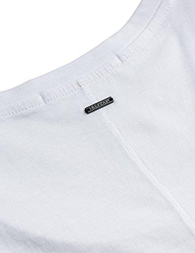 REPLAY T-Shirt Donna Bianco (Optical White)
