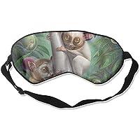 Eye Mask Eyeshade Lemur Cartoon Sleeping Mask Blindfold Eyepatch Adjustable Head Strap preisvergleich bei billige-tabletten.eu