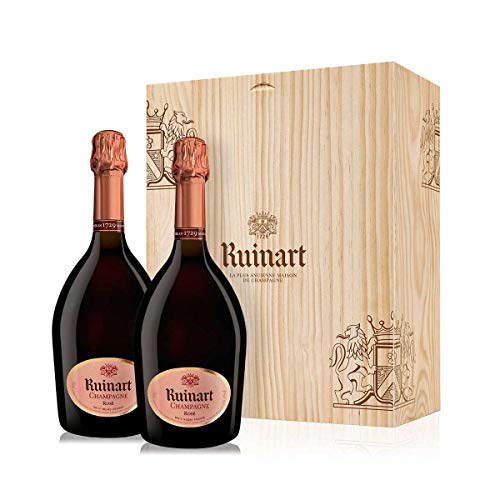Ruinart Rose 2x 0,75l in Holzkiste