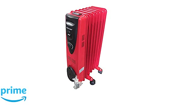 e767280a090 Ultramax Portable 7 Fin 1500w Electric OIL FILLED  Amazon.co.uk  Electronics