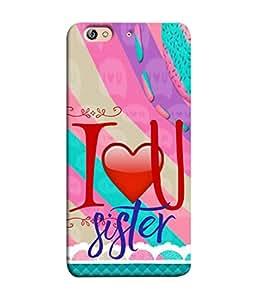 PrintVisa Designer Back Case Cover for Gionee Elife S7 (Funny Hilarious line best gift for sister)