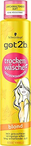 got2b Trockenshampoo Süsse Vanille blond 200ml trocken Wäsche