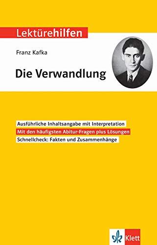 Klett Lektürehilfen Franz Kafka, Die Verwandlung: Interpretationshilfe für Oberstufe und Abitur