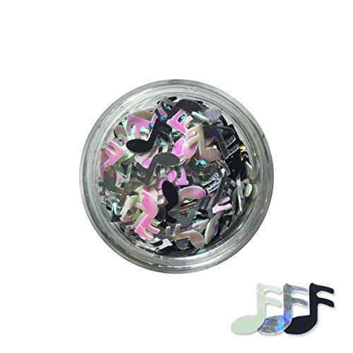 Pot de bijoux NOTES décoration des ongles - multicolore
