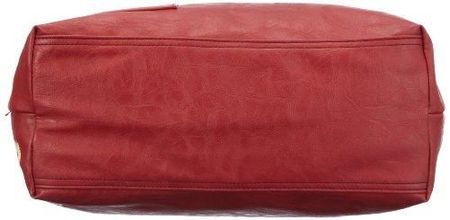 Strellson Piccadilly Circus Tote 02/21/03134, Herren Aktentaschen 45x42x13 cm (B x H x T) Rot (burned red 160)