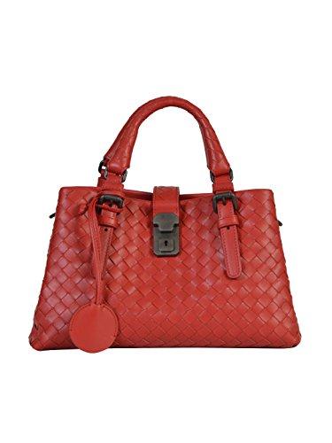 bottega-veneta-femme-448954vq1306417-rouge-cuir-sac-a-main