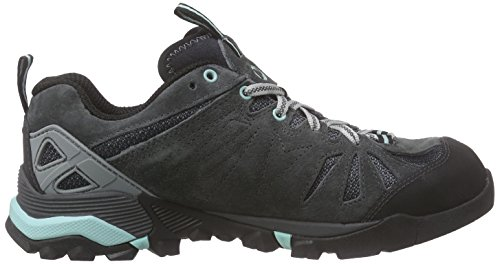 Merrell Capra, Damen Trekking- & Wanderhalbschuhe Grau (Granite)