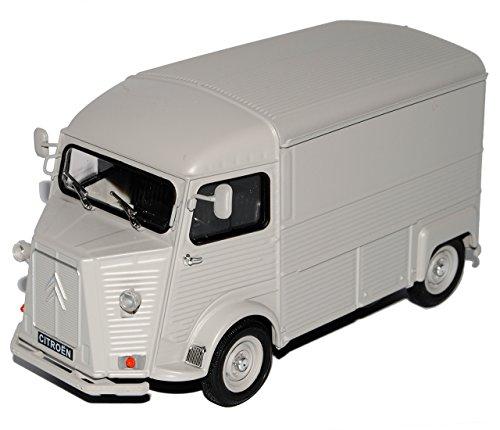 citroen-type-h-transporter-kasten-matt-grau-1-24-welly-modell-auto
