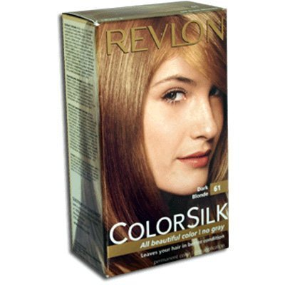 ColorSilk Beautiful Color #61 Dark Blonde by Revlon for Unisex - 1 Application Hair Color by Unknown