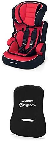 Foppapedretti Babyroad Seggiolino Auto, Gruppo 1-2-3 (9-36 Kg) per Bambini da 9 Mesi a 12 Anni circa, Rosso (R