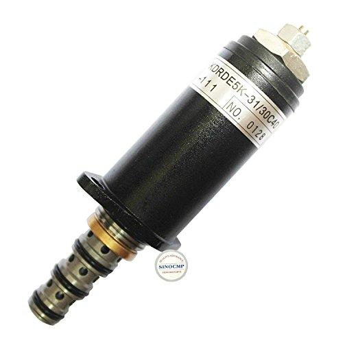 Sinocmp Pompe hydraulique Électrovanne Kwe5 K-31/G24y40 Yn35 V00021 F1 (Bleu point) pour Kobelco SK200-3