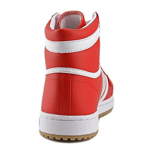 Adidas Top Ten Hi J Synthétique Baskets ColRed-RunWhi-RunWhi