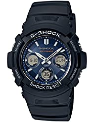 Casio Herren Armbanduhr Collection Analog - Digital Quarz Schwarz Resin Aw-90H-9Evef