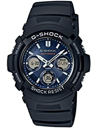 Casio Herren Armbanduhr Collection Analog - Digital Quarz Schwarz Resin AWG-M100SB-2AER