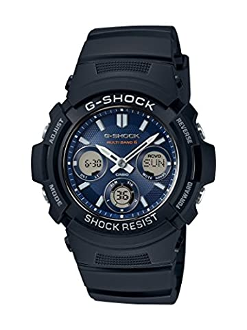 Casio G-Shock – Men's Analogue/Digital Watch with Resin Strap – AWG-M100SB-2AER